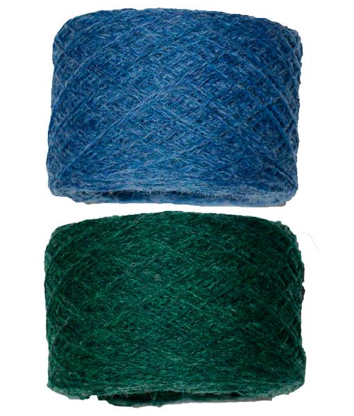 Blå-grøn