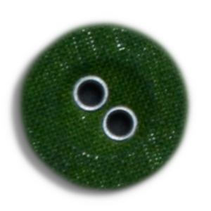 Lærredsknap-grøn